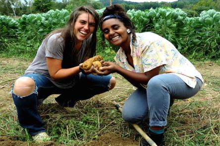 GMC students farming